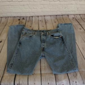 Levi's | 501 Light Blue Jeans 33 x 32 Mom Vintage